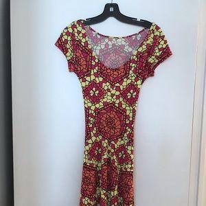 Designer dress, basically new.